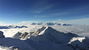 VIEW FROM THE TOP OF MONT FORT VERBIER