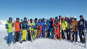 SKI INSTRUCTOR TRAINING GAP YEAR COURSE WARREN SMITH SKI ACADEMY