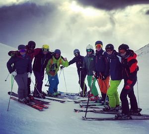 Warren Smith Ski Academy Gap Year Winter Verbier Group 2017