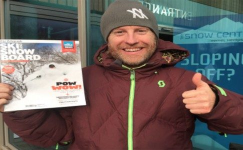WARREN SMITH SKI ACADEMY TELEGRAPH SKI AND SNOWBOARD MAGAZINE