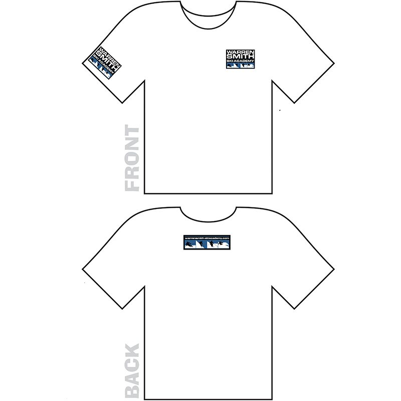 Warren Smith Ski Academy tshirt