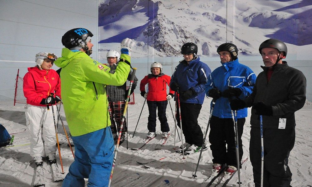 Warren Smith Ski Academy UK indoor snowdome