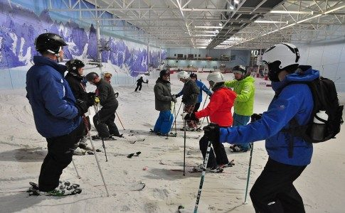 Warren Smith Ski Academy UK Indoor snow dome courses