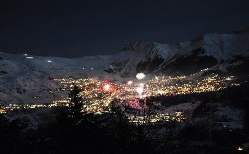 Warren Smith Ski Academy Fireworks new year Verbier