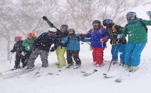 Warren Smith Ski Academy Japan group fun