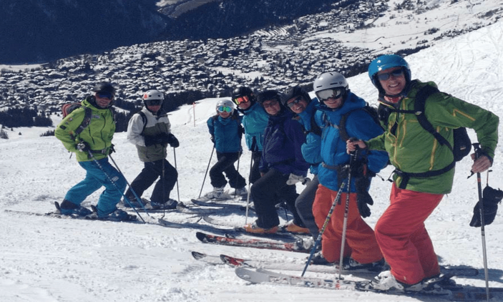 WARREN SMITH SKI ACADEMY VERBIER GROUP JORDAN