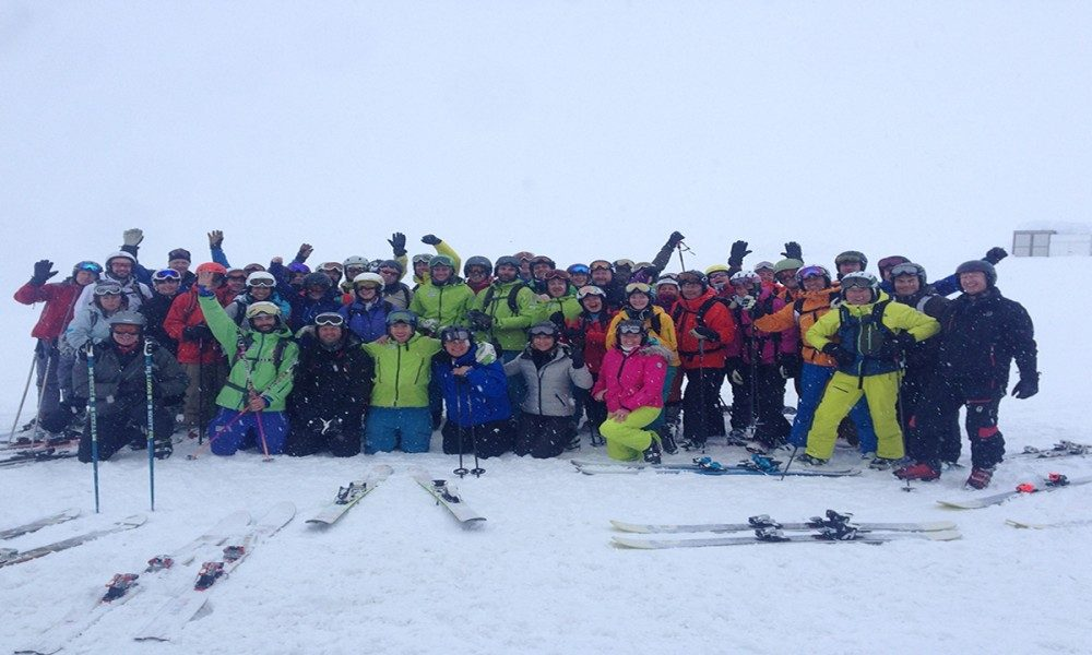 Warren Smith Ski Academy Japan group large