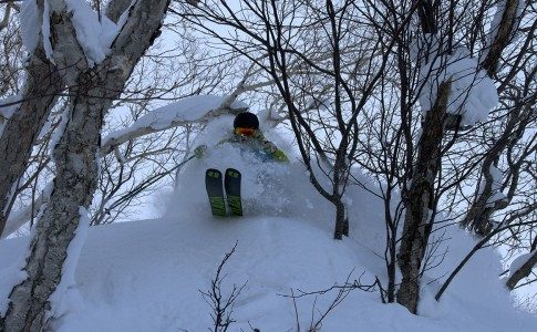 warren smith ski academy Japan powder camp Rob Stanford Pillow