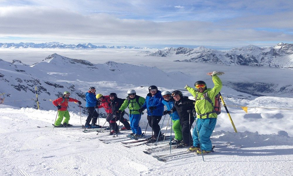 Warren Smith Ski Academy Rob group