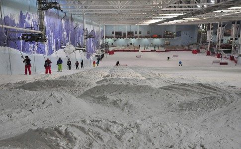Warren Smith Ski Academy UK indoor bumps 2