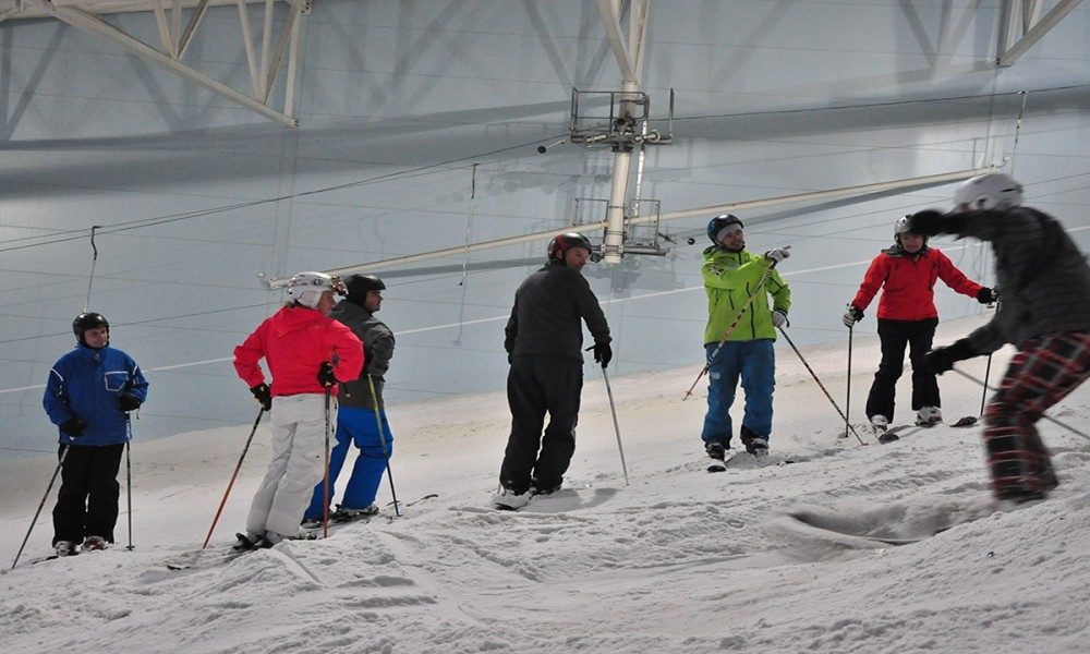 Warren Smith Ski Academy UK indoor bumps