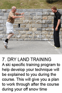 Dry-land-training