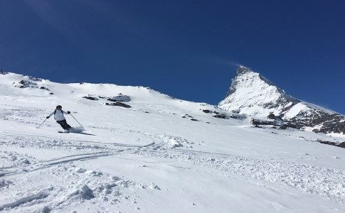 WARREN SMITH SKI ACADEMY CERVINIA ZERMATT SPRING POWDER SKIING MATTERHORN