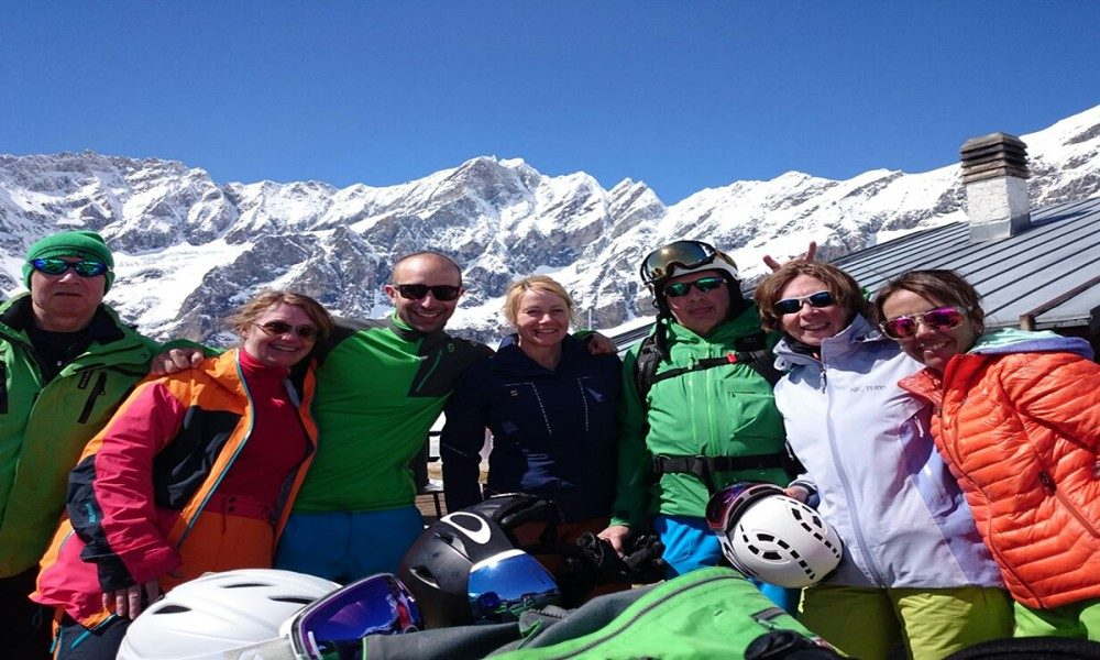 warren smith ski academy cervinia spring courses