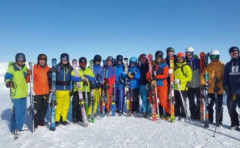 Warren Smith Ski Academy Gap Year Ski Instructor Training Verbier 2017