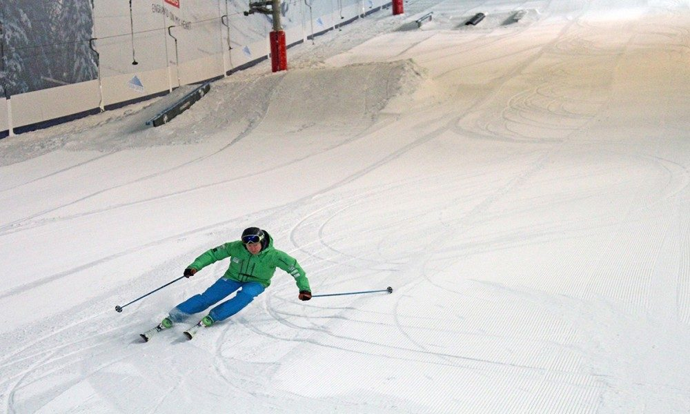 Warren Smith Ski Academy Indoor courses in the UK