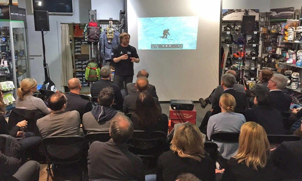 Warren Smith Ski Academy Ski Technique Lab UK tour 2016