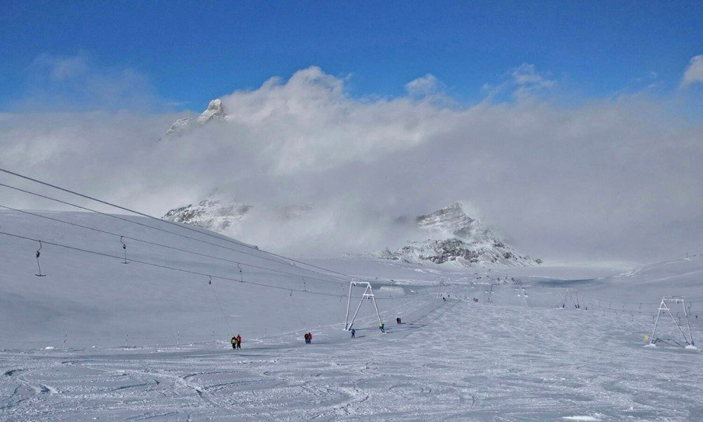Warren Smith Ski Academy Cervinia courses November