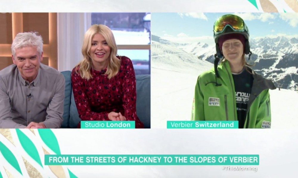 Warren Smith Ski Academy Snow Camp Charity This Morning ITV