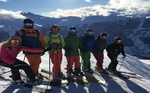 Warren Smith Ski Academy Mogul courses verbier