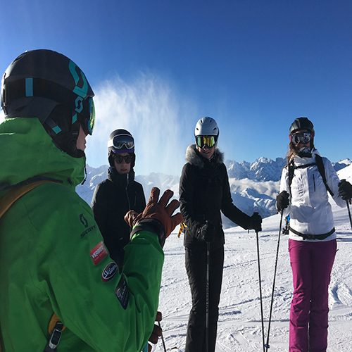 Warren Smith Ski Academy Small Group Coaching Verbier
