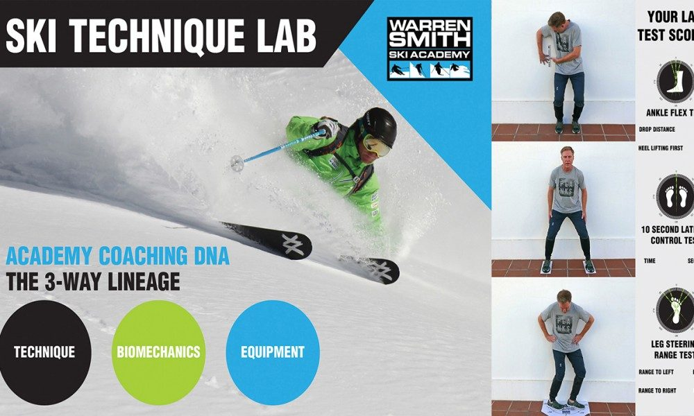 WARREN SMITH SKI ACADEMY Ski Technique Lab 2018
