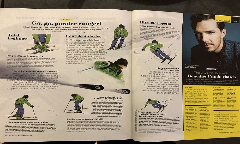 WARREN SMITH SKI ACADEMY GQ ARTICLE