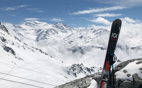 Scenic Verbier With Volkl Mantra
