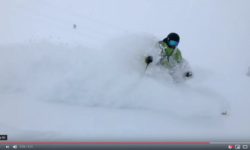 Powder video screen shot