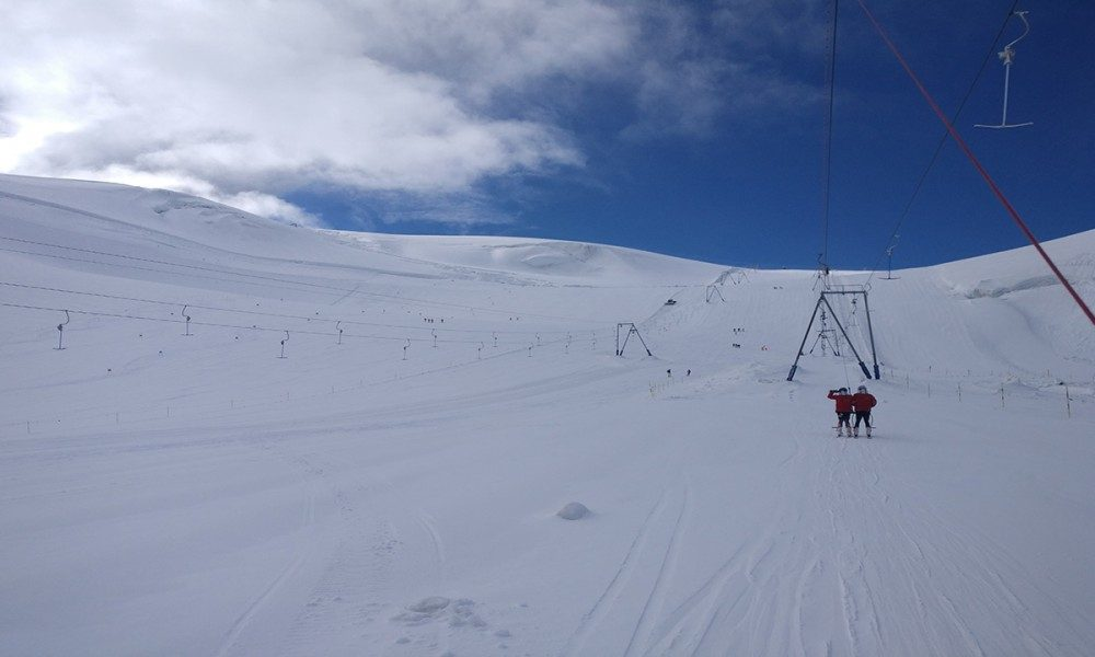 CERVINIA SUMMER SKIING GLACIER