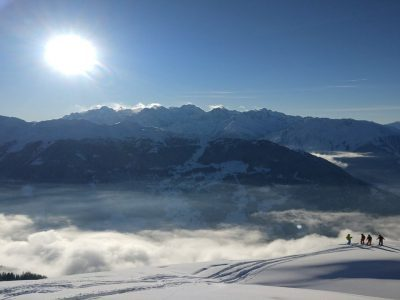 Scenic Verbier with Group