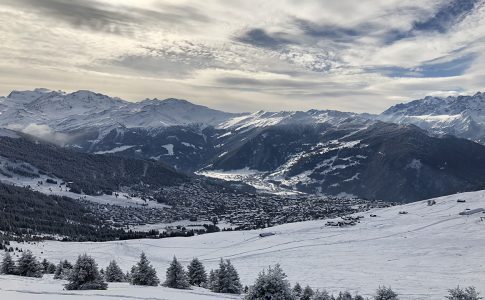 VERBIER VIEW WINTER