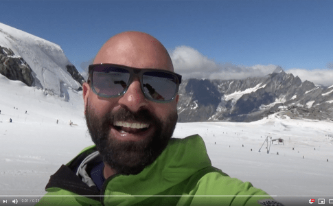 CERVINIA SUMMER SKIING VLOG