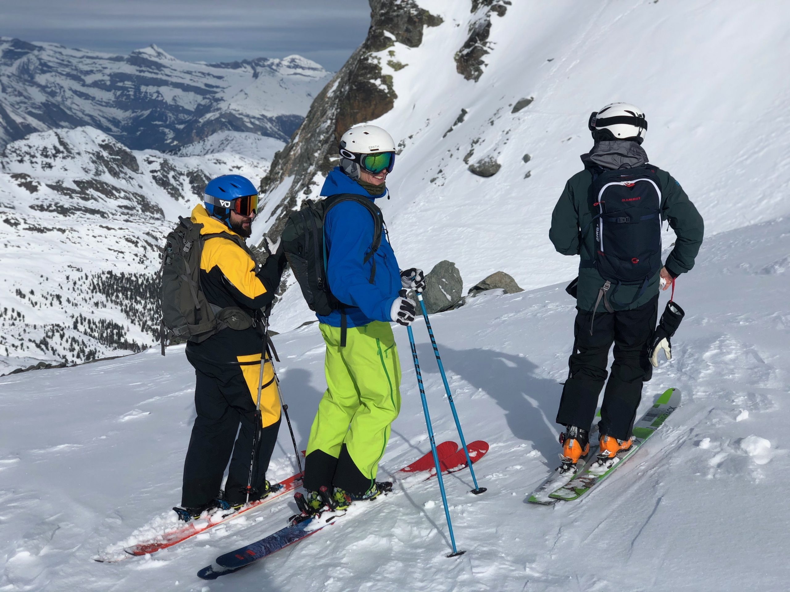Off piste touring