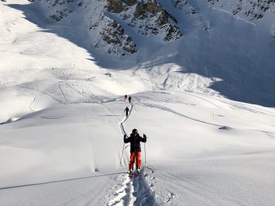 Touring Off piste Verbier Barry